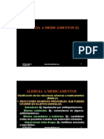 Diapositivas Alergia a Medicamentos I (Texto)