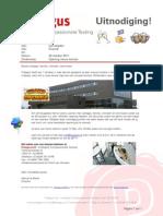 Praegus - Uitnodiging - Opening Nieuw Kantoor
