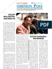 Occupied Dominion Post Issue 1