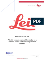 Electronic Trade Test v1.01