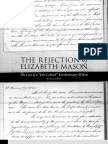 Rejection of Elizabeth Mason - Prologue Summer 2011