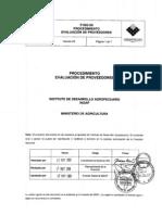 p Iso 09 Procedimiento Evaluacion Prove Ed Ores v3