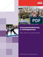 Essay Consumentenbeleving in Winkelgebieden