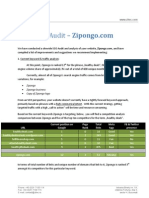 Zipongo SEO Audit
