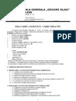 FISA POSTULUI - Cadre Didactice