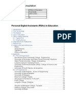 PDAs in Education