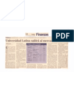 U Latina Saldra Al Mercado