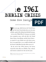 1961 Berlin Crisis - Prologue Fall 2011
