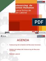 Pwc Outsourcing Una Nueva Forma de Relacion Laboral Antonio Grijalba