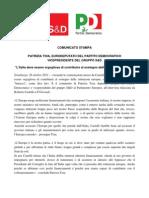 """""""L'Italia deve essere orgogliosa di contribuire al sostegno delle istituzioni europee"""""""