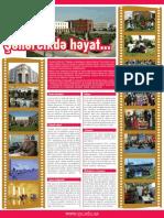 Qafqaz Universiteti Kampus Hayatı