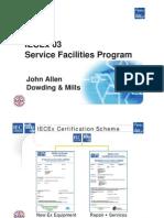 John_Allen_IECEx 03 Service Facility Scheme[1]