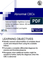 Abnormal CBC - Presentation