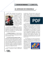 Sufragio en Venezuela
