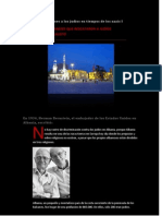 Musulmanes salvan a judíos en tiempos de los nazis – I