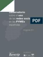 Observatorio sobre el uso de las redes sociales en las pymes españolas