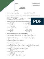 Fac EyE-UDP-Algebra I-Guía Nº2-D-Algebra en IR-1-2010