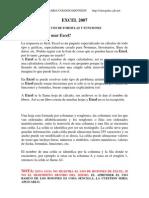 Excel 2007 Ejercicios Con Ejemplos Resueltos