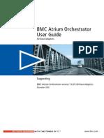 BMC Atrium Orchestra Tor Version 7.6.05.00 Base Adapters