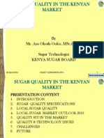 Kssct Sugar Quality 2011