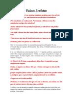 Falsos Profetas (Palavra Da Formatura Do C.G.T) 03-09-11