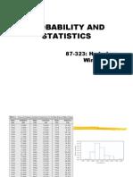 09 Probability and Statistics W08 1
