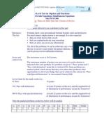 Solution+G Level+V1+MaCNVC08+K1+Algebra+&+Functions