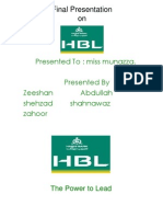 HBLpresentation (zeeshan)