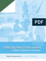 OrientacpesCurriculares Proposicao Expectativas de Aprendizagem EnsFundII Portef2