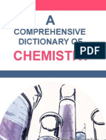 A Comprehensive Dictionary of Chemistry - G. Willie (2010)