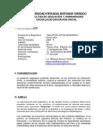 Taller . Programa Academico Danzas Peru