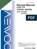 DAEWOO LCD 26_ 32 DLP26H1001