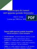 6- Radioterapia Dei Tumori Dell'apparato Genitale Femminile