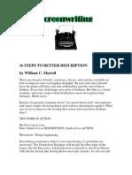 16 Steps to Better Description