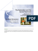 Restoration and the Sacred Mushroom