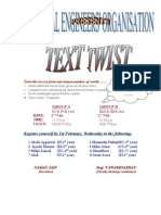 Extreme > Main Copy of Twist the Text to Form Maximum Number of Words