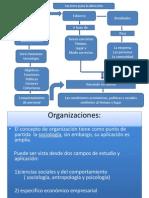 Presentación Teoria organizacional