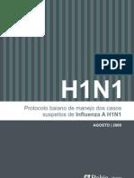Protocolo Manejo Influenza a H1N1_BA