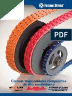 FENNER DRIVES Correas Trapezoidales Compuestas de Alto Rendimiento