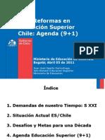 Reformas Educacion Superior Chile