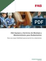 FAG Equipos y Servicios de Montaje y Mantenimientos para Rodamientos
