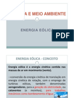 Energia Eólica I