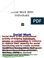 Social Work With Individuals (SCW 1)