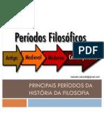 Filosofia - Principais períodos da História da Filosofia