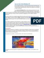 Crear Un Live CD de Windows XP