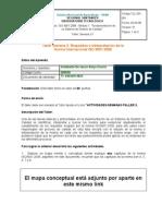 """Taller Semana 3 Adalberto Borja ISO 9001:2008 """"fundamentación de un sistema de gestión de la calidad"""""""