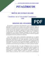 Guzman Miguel de - Los Pitagoricos