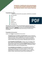 2005 - Manual para la descripción y clasificación de los documentos impresos y archivos de cómputo del HCU de la UACh