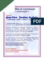 Convocaçao 1a Assembléia Gaia Viva