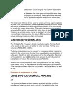 Urin Analysis